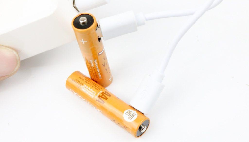 baterai isi ulang micro usb